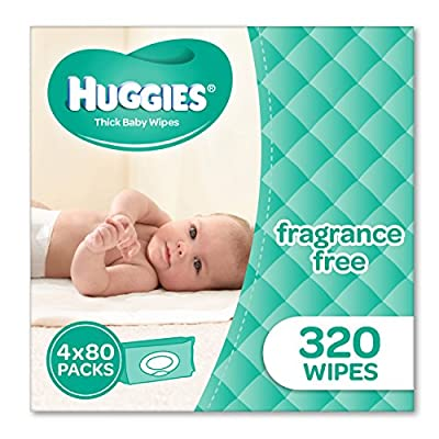 Huggies Fragrance Free Baby Wipes – Packaging May Vary