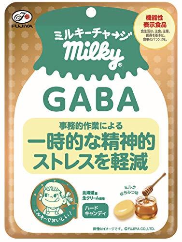 不二家 ミルキーチャージ(GABA)袋 70g×6袋