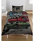 サンダーバード ARE GO Thunderbirds シングル 布団カバー+枕カバーセット 2089 [並行輸入品]