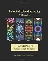 Fractal Bookmarks: Cross Stitch Patterns