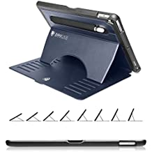 ZUGU CASE - 2019 iPad Air 10.5/2017 iPad Pro 10.5 Inch Case Prodigy X - Very Protective but Thin with Convenient Magnetic Stand with Sleep/Wake Cover (Navy Blue)