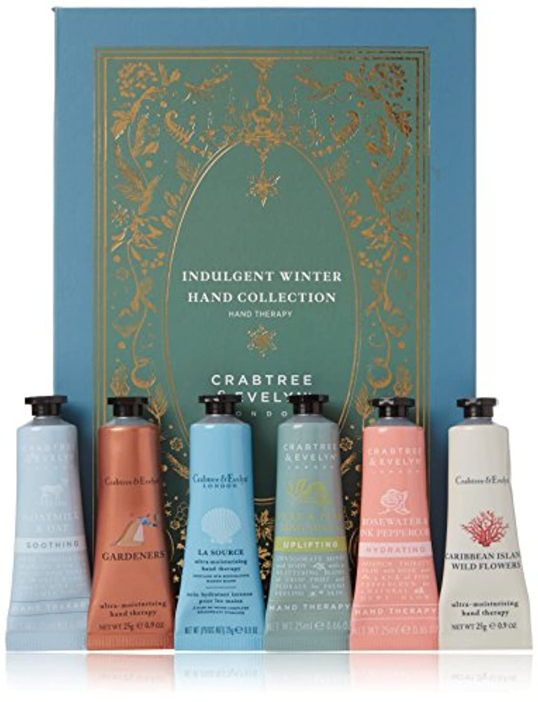 囲い作詞家が欲しいクラブツリー&イヴリン Indulgent Winter Hand Collection 6x25ml/0.86oz並行輸入品