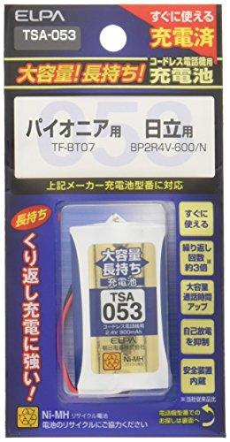 ELPA エルパ 子機用 大容量長持ち充電池 TSA-053