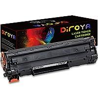 DIROYA 互換トナーカートリッジ HP 35A 85A 435A 285A CB435A CE285AとCanon 125用 (大容量1,500ページ、1ブラック)