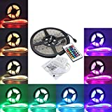 GT Alliance 5M 5050 RGB Waterproof 300 LED Strip Light 12V DC 24 Key IR Controller ¥ 1,999