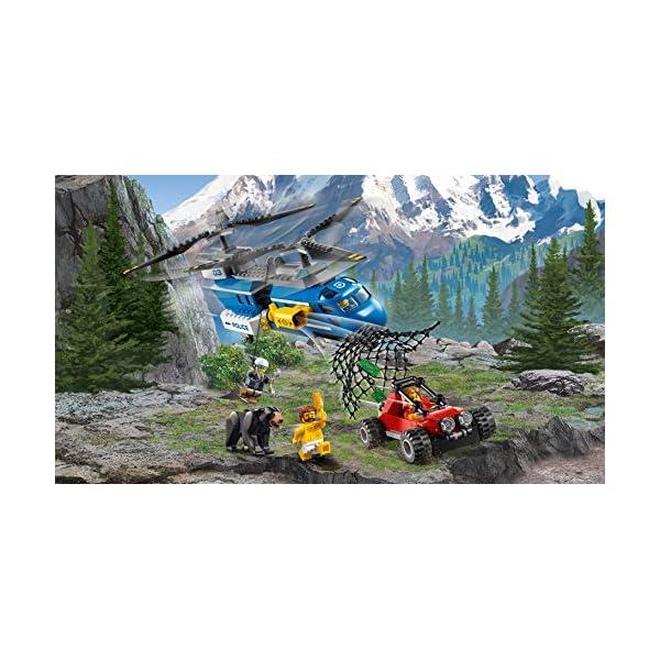 レゴ(LEGO) シティ 山の逮捕劇 60173の紹介画像10