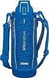 サーモス 水筒 真空断熱スポーツボトル 1L ブルーシルバー FHT-1001F BLSL
