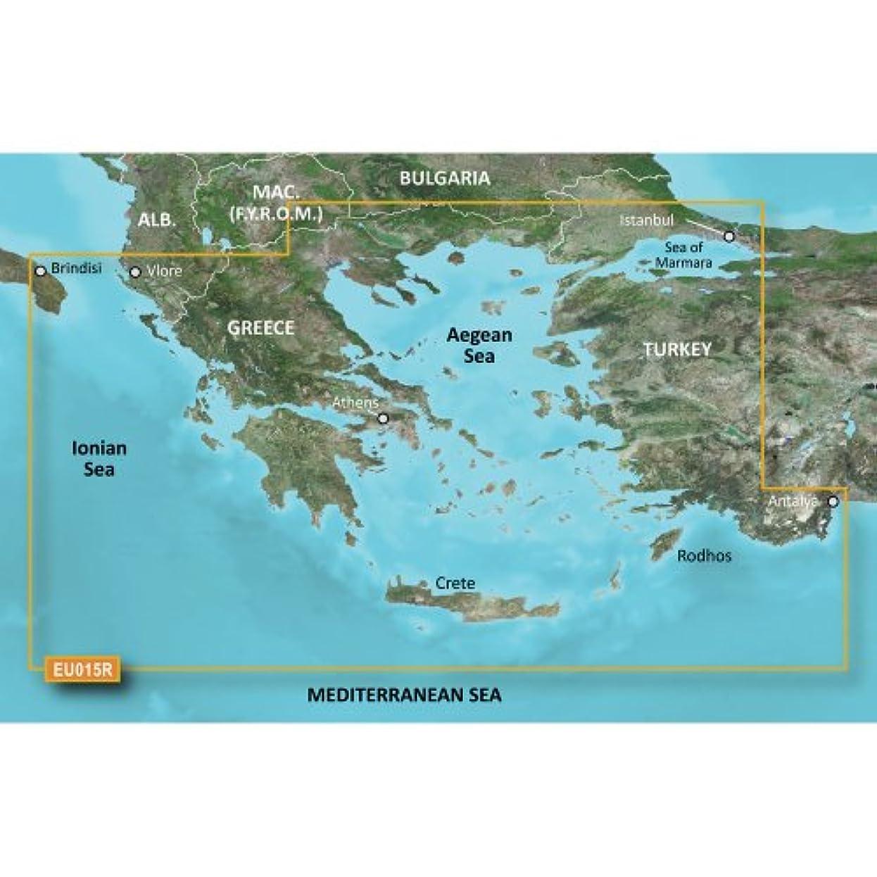 ポルティコびん書誌Garmin 010-C0773-20 Bluechart G2 HXEU015R Aegean Sea & Sea of Marmara - Micro SD & SD