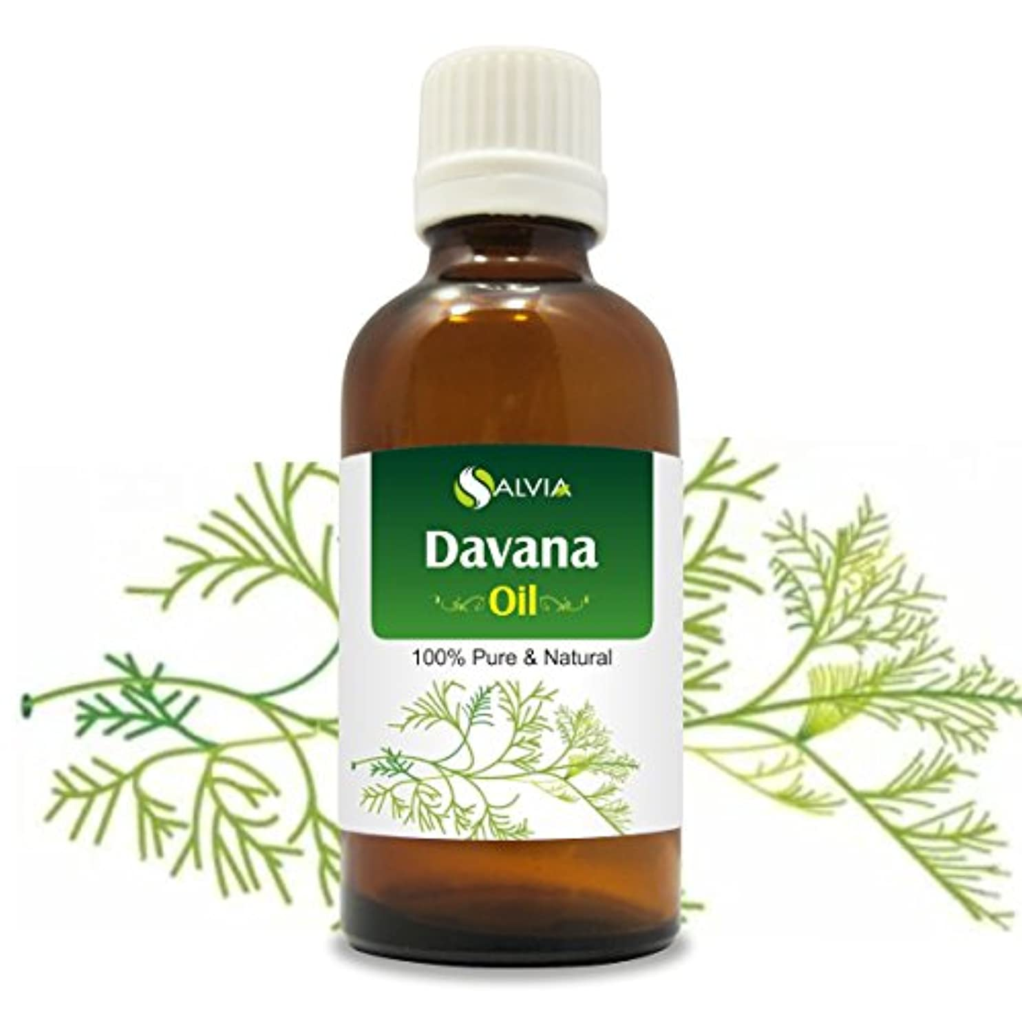 累積高揚した耳DAVANA OIL 100% NATURAL PURE UNDILUTED UNCUT ESSENTIAL OIL 50ML
