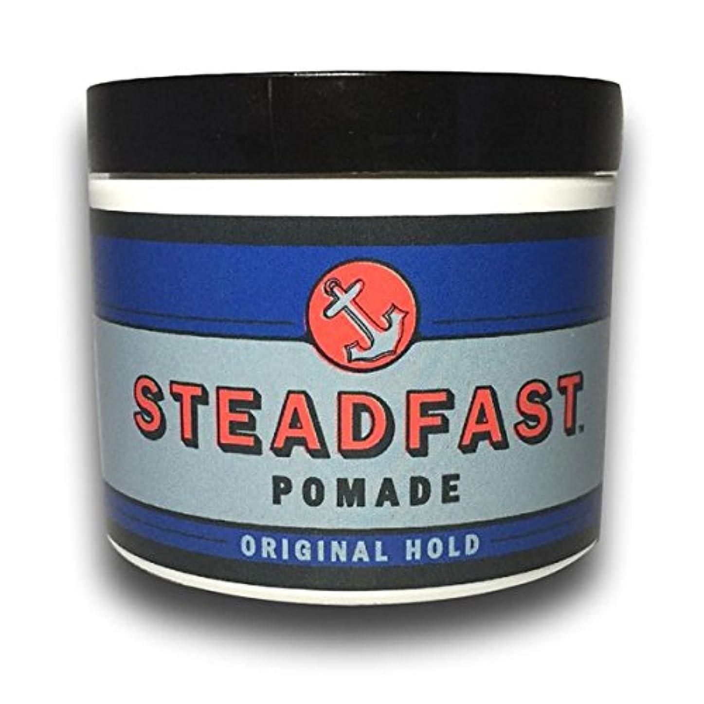 正当な眉平和的【Steadfast Pomade】 ステッドファスト ポマード 【Original Hold】 水性ポマード オリジナルホールド 4oz(113.39g) MADE IN U.S.A