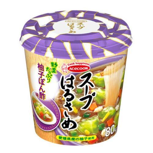 スープはるさめ 柚子ぽん酢