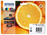 Epson C13T33574010 (33XL) Ink cartridge multi pack, 12,2ml+3x8,9ml+8,1ml, Pack qty 5