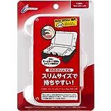 CYBER ラバーコートグリップ スリム (New 3DS LL 用) ホワイト