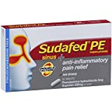 SUDAFED PE Double Action Sinus/Anti-Inflammatory 20, 0.0219 Kilograms