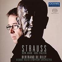 R. シュトラウス:交響詩「ドン・ファン」/交響的幻想曲「イタリアより」(ウィーン放送響/ド・ビリー)