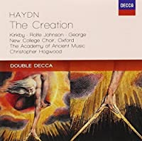 Haydn: Creation by KIRKBY / JOHNSON / ACADEMY OF ANCIENT MUSIC / HOGWOOD (2012-10-01)
