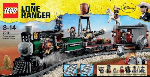 レゴ ローンレンジャー トレインチェイス 79111