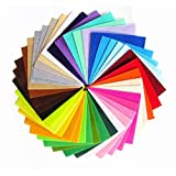 手芸 カラー フェルト 厚さ 1.0 mm (30cm x 30cm) 40 色 セット