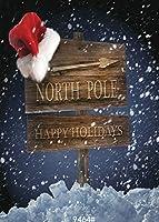 GooEoo 5x7ftクリスマスギフト休暇ポリファブリックカスタマイズ写真背景の背景スタジオプロップJLT 9464