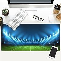 LL-COEUR フットボール 大型マウスパッド キーボード ゲーミング オフィス テーブルマット が良い 滑り止めゴム底 (20)