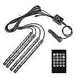 Amazon.co.jpMinger 防水高輝度 フルカラーRGB LEDテープライト 車内装飾用 シガーソケット付き