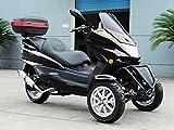 IceBear(アイスベアー) リバーストライク 150cc逆三輪 バイク 普通免許 黒 HL150FB