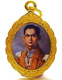 タイKing Bhumibol Rama IX Reign 9 Collectibleギフトアクセサリーロケットペンダント