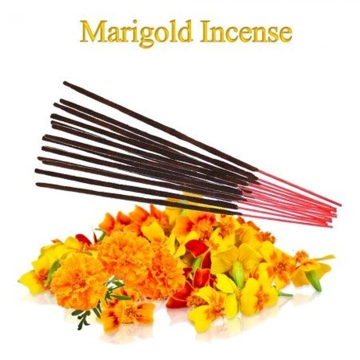 額メッセンジャー連鎖Marigold Incense - 100 gms Divine World