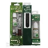 maruman 電子タバコ 電子PAIPO by 禁煙パイポ 本体ワインレッドセット、リキッド、専用ケースブラックセット