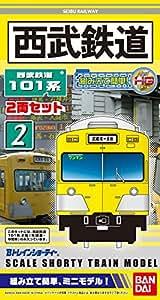 Bトレインショーティー 西武鉄道 101系 旧塗装 2両セット