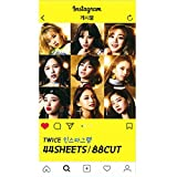NEW TWICE ツワイス INSTAGRAM PHOTO CARD Instagramフォトカード 44SHEETS (88CUT) [韓国並行輸入品]