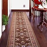 廊下敷きカーペット ベルギー製廊下用絨毯 (ベージュ) 幅66cm×長さ440cm