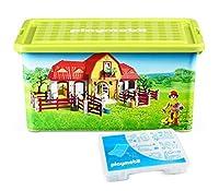 PLAYMOBIL® 064663 Storage Box + Compartment Box%カンマ% Farm [並行輸入品]
