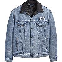 Levi's Men's Padded Trucker Jacket, Blue