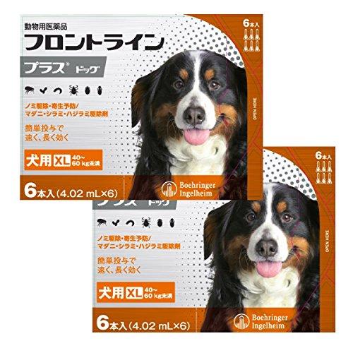 【2箱セット】フロントラインプラス犬用 XL(40〜60kg...