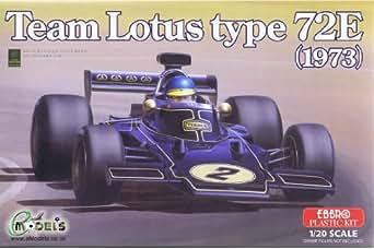 エブロ 1/20 チーム ロータス タイプ 72E 1973 プラモデル 20003