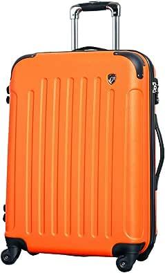 Griffinland スーツケース 超軽量 マット ファスナー 一年保証 TSA FK1037-1
