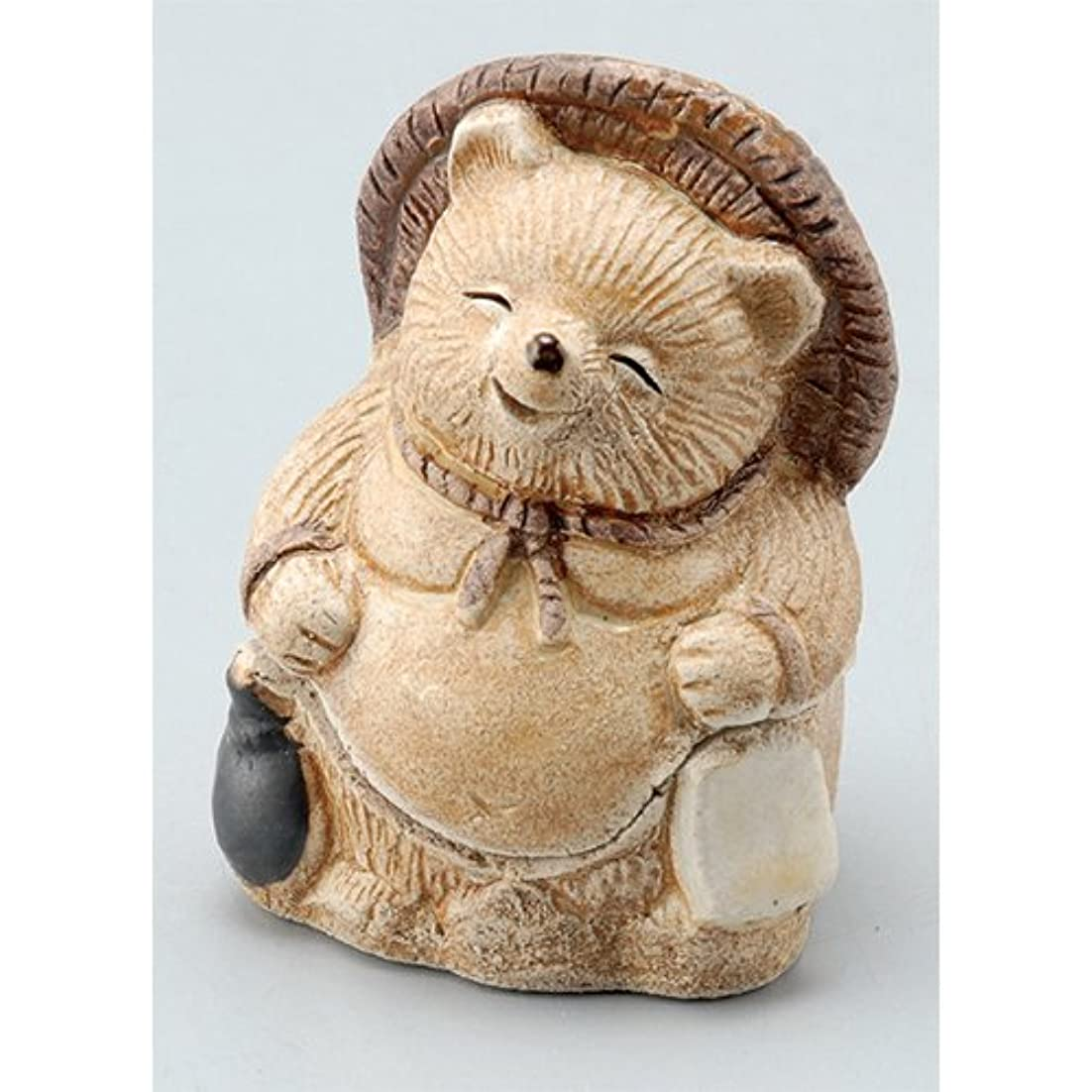 おもちゃ財政分解する香炉 飾り香炉(福狸) [H7.5cm] HANDMADE プレゼント ギフト 和食器 かわいい インテリア