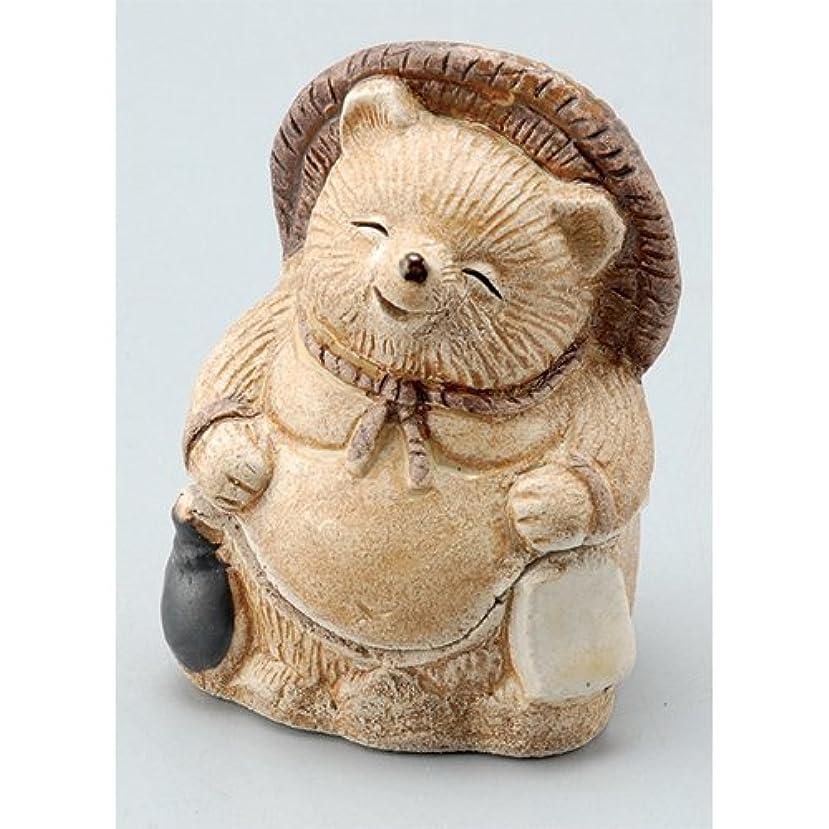 香炉 飾り香炉(福狸) [H7.5cm] HANDMADE プレゼント ギフト 和食器 かわいい インテリア