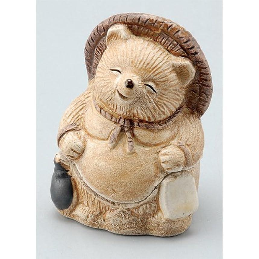 代表ホイットニーに勝る香炉 飾り香炉(福狸) [H7.5cm] HANDMADE プレゼント ギフト 和食器 かわいい インテリア