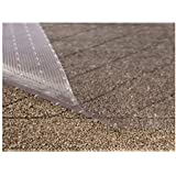 (70cm x 1.8m, Clear - Low Pile) - Sterling Brands Clear Vinyl Plastic Floor Runner/Protector for Low Pile Carpet - Non-Skid D