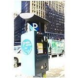 ポストカード「アメリカ ニューヨークタイムズスクエア・Times Square 駐車メーター」-絵はがきハガキ