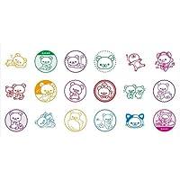 リラックマ のんびりスタンプコレクション BOX商品 1BOX = 18個入り、全18種類