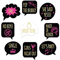 Bachelorette Party Wine Glass Drink Markers