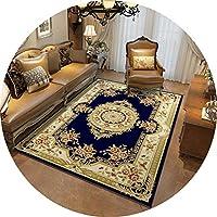ラグ・カーペット カーペットの寝室のソファーのコーヒーテーブルのカーペットの家の家具の研究室の居間完全なヨーロッパ式の要約様式 (Color : C, Size : 140cmx200cm)
