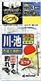 Marufuji(マルフジ) K-133 川池ハエ・フナ玉ウキ全長3.6m 3号