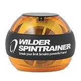 WILDER パワーリスト ローラーリストボール 握力 手首強化 リストトレーナー(オレンジ)