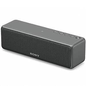 ソニー SONY ワイヤレスポータブルスピーカー SRS-HG10 : Bluetooth/Wi-Fi/LDAC/ハイレゾ/専用スマホアプリ対応 2018年モデル グレイッシュブラック SRS-HG10 B