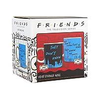 Paladone Friends テレビ番組 熱変化マグカップ