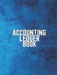 Accounting Ledger Book: Accounting Book for Small Business Income and Expense Record